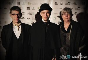 Oscar Steen spelade Jonas Falk i Falks Grav, nu Skogsvaktare